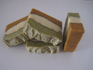 Annato & nettle powder soap