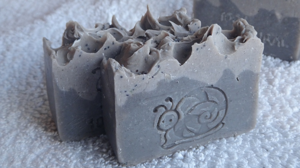 Soap with black sesame