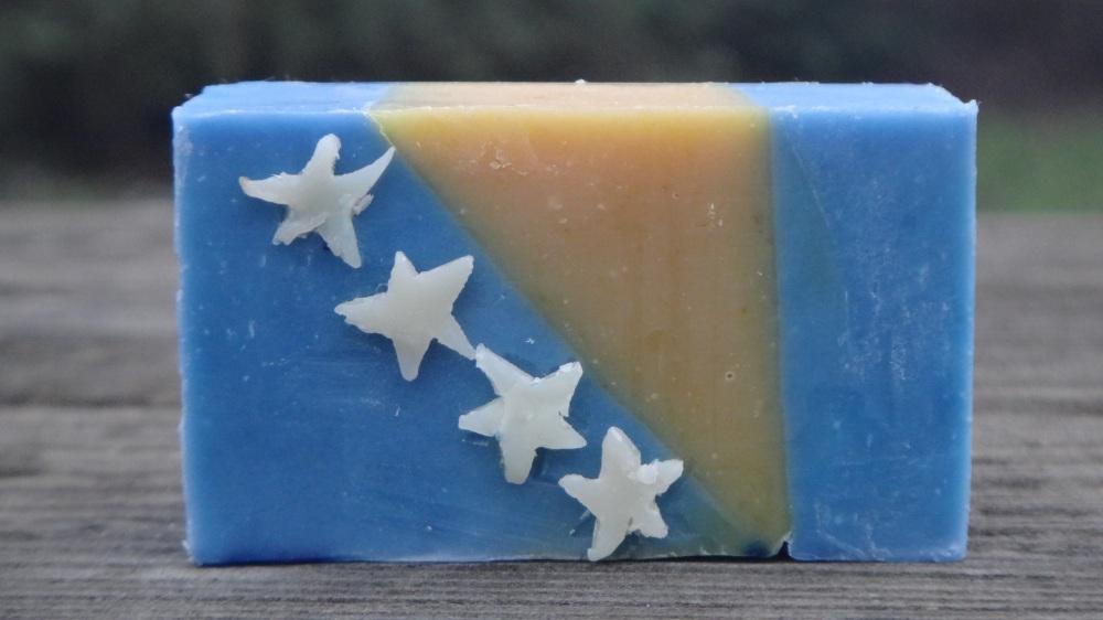 Flag  Soap