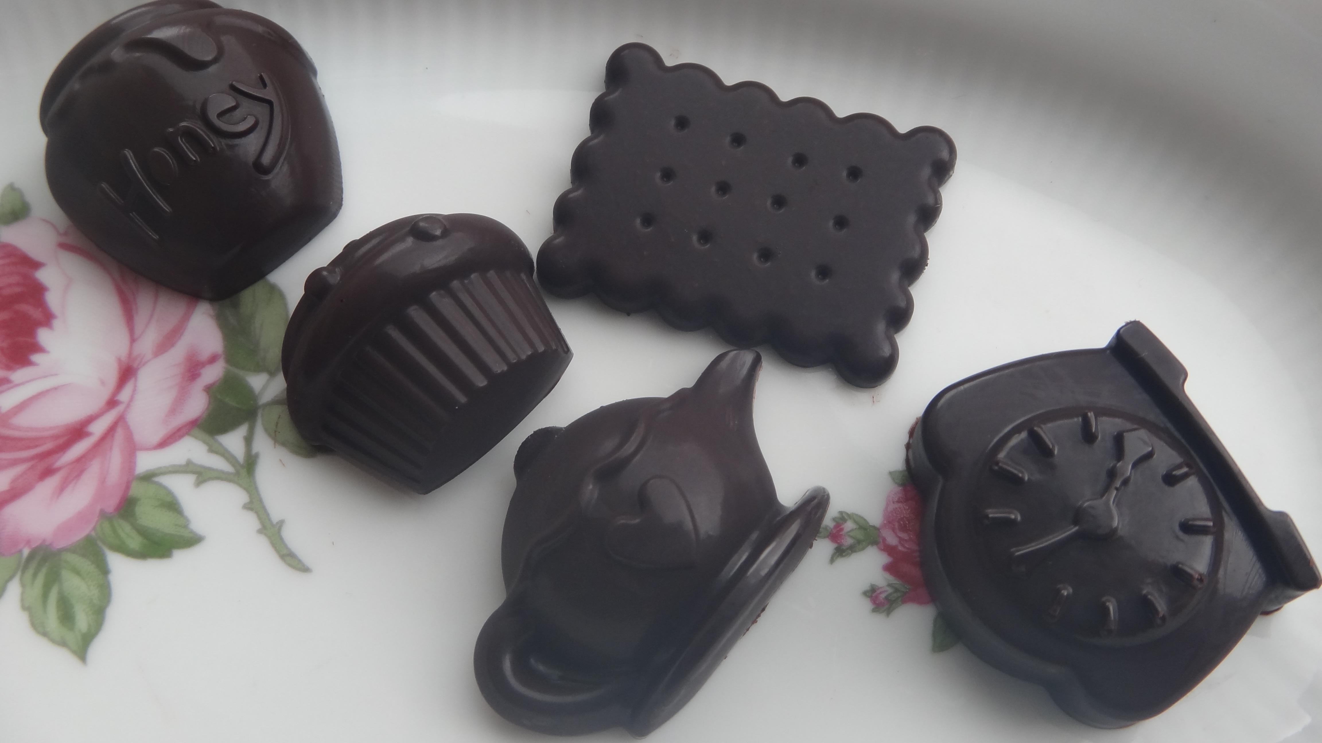 Zelfgemaakte chocolade