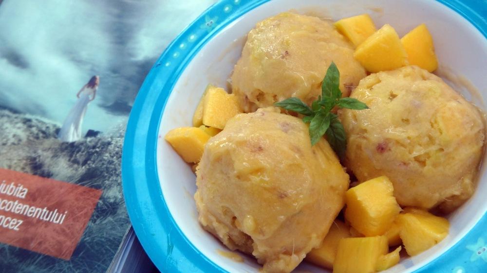 Mango Banana Ice Cream