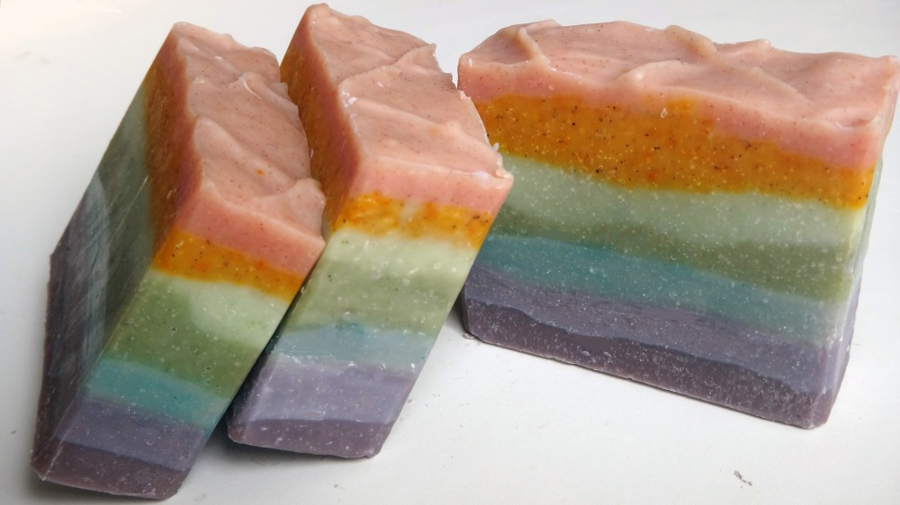 Gradient Colored Soap