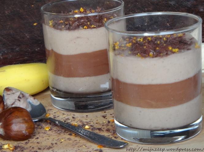 Lucuma chocolate mousse