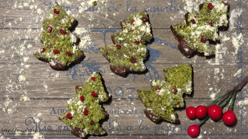 Vegan Christmas Tree Cookies Recipe