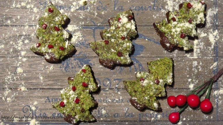 Vegan Christmas Tree Cookies Recipe
