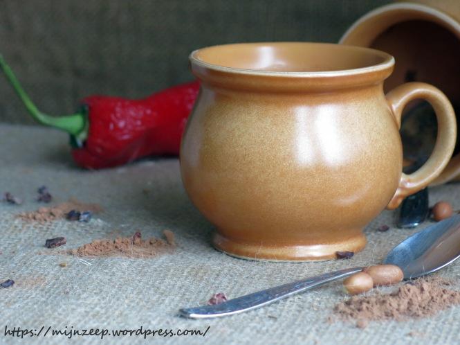 Vegan hot chocolate milk