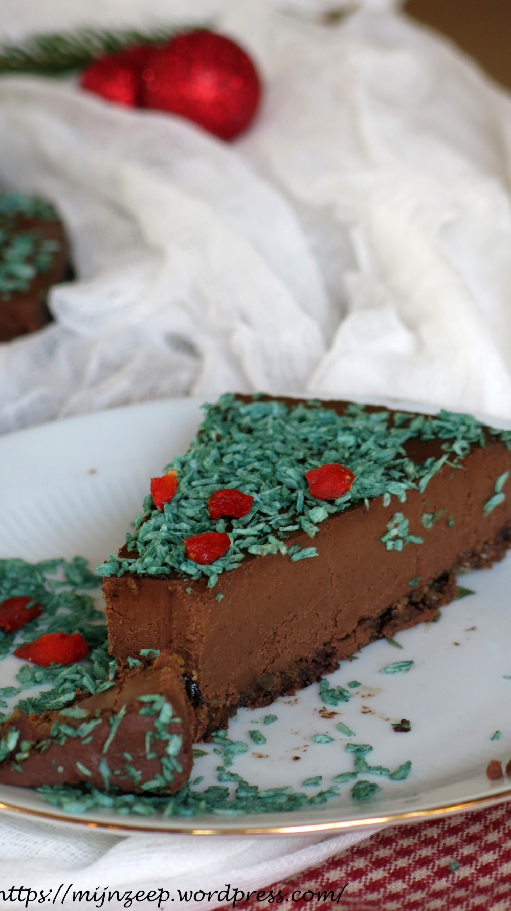 Raw Chocolate Mousse Tart
